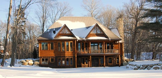 lake placid ny_custom home