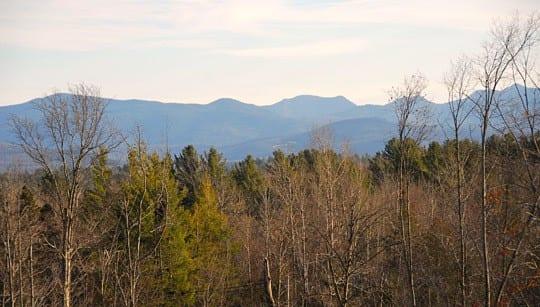 Southern peak view